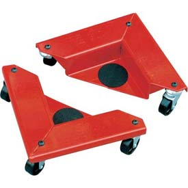 Desk & Cabinet Corner Mover Dollies - Set of 4 - 1320 Cap Lbs./Set