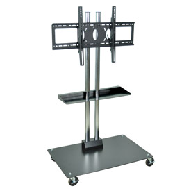 """Optional Middle Shelf for 65"""" Mobile Flat Panel Stand"""
