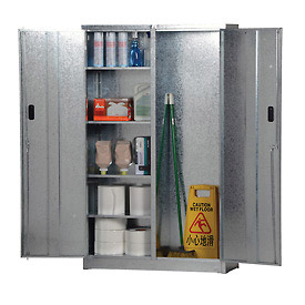 Galvanized Combination Cabinet Easy Assembly 44 x 15 x 72