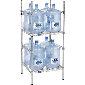 5 Gallon Water Bottle Storage Rack 8 Capacity