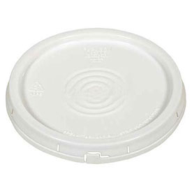 Vestil Tear-Tab Lid LID-54-PWT for 3½, 5 & 6 Gallon Open Head Pails - White