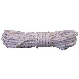 """Forestry Pro™ 1/2""""x600' 12-Strand Braided Polyester Tree Climbing & Rigging Line AG12SP12600RW"""
