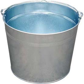 Vestil Galvanized Steel Bucket BKT-GAL-500 5 Gallon Capacity