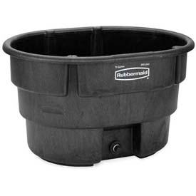 Rubbermaid 4244-00 Stock Tank 70 Gallon Black