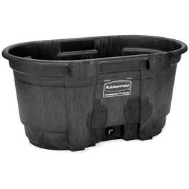 Rubbermaid 4242-88 Stock Tank 100 Gallon Black