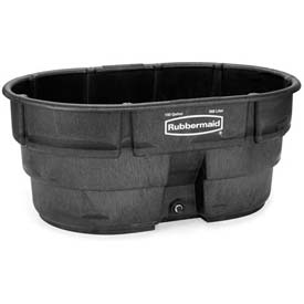 Rubbermaid 4245-00 Stock Tank 150 Gallon Black
