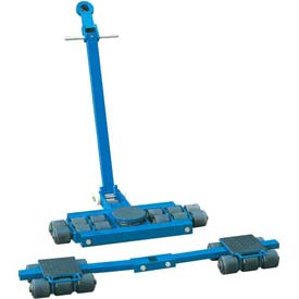 Steerable Machinery Moving Skate Roller Kits 18 Ton Capacity