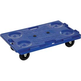 "Vestil Interlocking Plastic Dolly PCS-1626 26""L x 16""W 250 Lb. Capacity"
