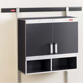 Metal Wall Cabinets garage furniture | cabinets-metal | rubbermaid 5m16 fasttrack