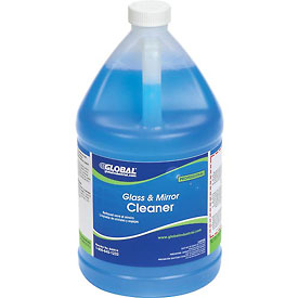 Global™ Glass & Mirror Cleaner - Case Of Four 1 Gallon Bottles