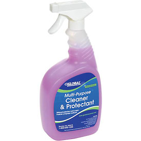 Global™ Multi-Purpose Cleaner & Protectant - Case Of Six 1 Quart Bottles