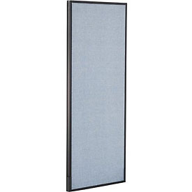 "Interion™ Office Cubicle Partition Panel, 24-1/4""W x 60""H, Blue"