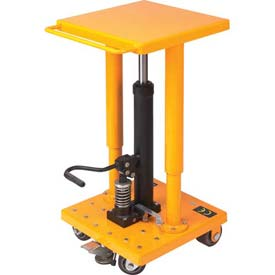 Wesco Value Lift Work Positioning Post Lift Table 272470 500 Lb. Cap. by