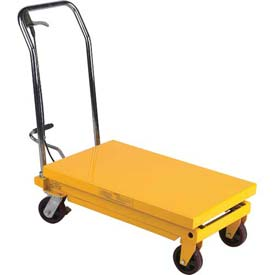 Wesco Mobile Single Scissor Lift Table 260199 700 lb. Capacity by