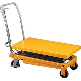 Wesco Mobile Double Scissor Lift Table 260204 770 lb. Capacity by