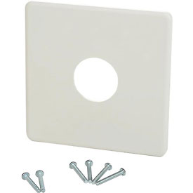 "PECO Wall Plate 65345, 4"" X 4"" For  PECO T155, T167, T158, T168 Series Thermostats"