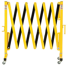 Portable Metal Pedestrian Barricade Gate