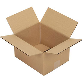 """Corrugated Boxes 25 Pack 10"""" x 8"""" x 6"""" Single Wall 32 ECT"""