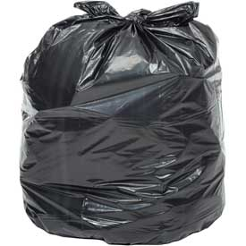 Global™ Contractor Black Trash Bags - 42 Gallon, 3.0 Mil, 50/Case