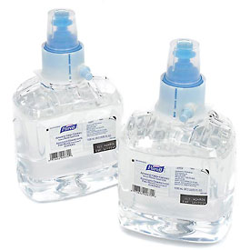 Purell Hand Sanitizer Refill Gel - LTX Advanced Green Certified 1200mL - 2 Refills/Case 1903-02