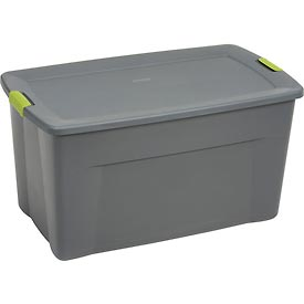 Sterilite 19483v04 Industry Wheeled Storage Tote With Latch 45 Gallon 36 1 2 X