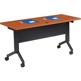 "Training Table - Flip-Top 60"" x 24"" - Cherry"
