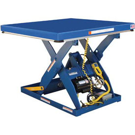 Vestil Electric Hydraulic Scissor Lift Table EHLT-4872-4-43 72 x 48 4000 Lb. by