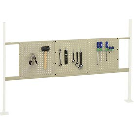 """Mounting Kit with 18""""W and 36""""W Pegboards for 72""""W Workbenches - Tan"""
