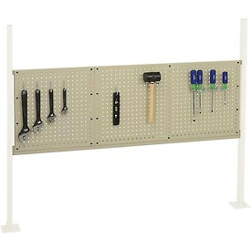 "Mounting Kit with 18""W and 36""W Pegboards for 60""W Workbench -Tan"