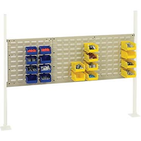 """Mounting Kit with 18""""W and 36""""W Louvers for 60""""W Workbench -Tan"""