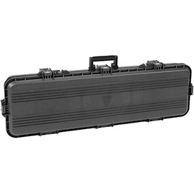 "Plano All Weather Storage Rifle Case w/Foam & O-Ring Seal Box, 46""L x 5-1/2""W x 16""H, Black by"