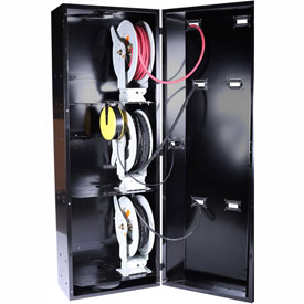 "JohnDow JDI-SC1 Smart Cabinet™ Hose, Cable, & Cord Reel Storage 28""W x 20""D x 80""H"