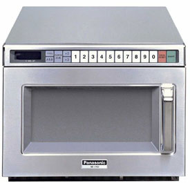 Panasonic NE-21521  Commercial Microwave Oven, 0.6 Cu. Ft., 2100 Watts by
