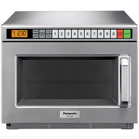 Panasonic  NE-21523  Commercial Microwave Oven, 0.8 Cu. Ft., 2100 Watts by