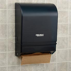 Global Industrial™ Plastic C-Fold/Multi-Fold Paper Towel Dispenser 350 C-Fold/540 Multi-Fold