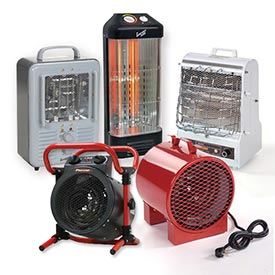Radiant & Fan Forced Portable Heaters