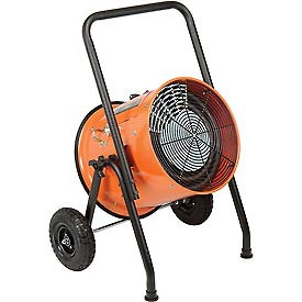Salamander Heater – Portable Electric Fan Forced - 240V 15 KW 3 Phase 36.1 Amps