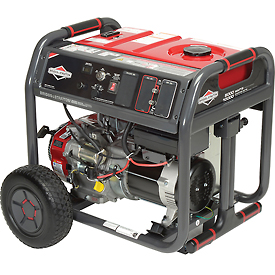 Buy Briggs & Stratton 030664 8000W Elite Series Portable Generator, NEC Compliant