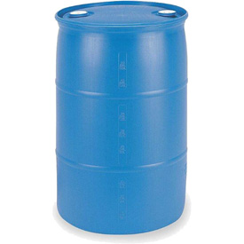 Mauser 55 Gallon Closed Tight-Head Plastic Drum POLY55THBL - Blue