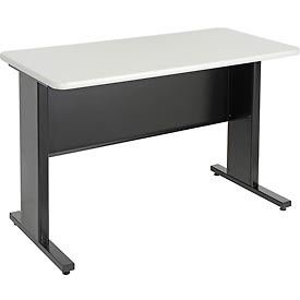 "48""W x 24""D x 30""H Work Desk -Black"
