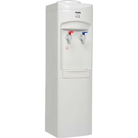 Global Top Load Bottle Water Cooler, Hot & Cold, White Color Finish