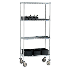 WIRE SHELF 48X24 W/ESD SLEEVES