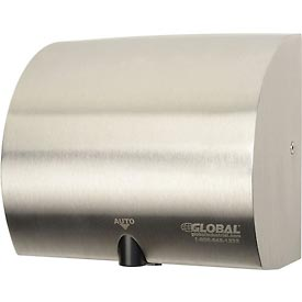 Global™ High Velocity Automatic Hand Dryer - Stainless Steel
