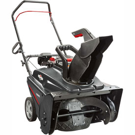 Briggs and Stratton 22 in. 208 cc Single Stage Gas Snow Thrower with Electric Start - 1022E