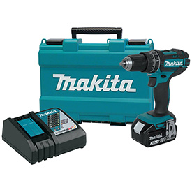 "Makita XPH102, 18V LXT Lithium-Ion Cordless 1/2"" Hammer Driver-Drill Kit, 3.0Ah by"