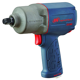 "Ingersoll Rand 2235QTiMAX 1/2"" Quiet Titanium Air Impact Wrench by"