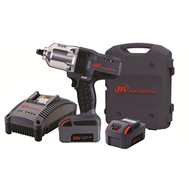 "Ingersoll Rand W7150-K2 1/2"" 20V Hi-Torque Cordless Impact Wrench Kit 2 Batteries 3.0Ah   by"