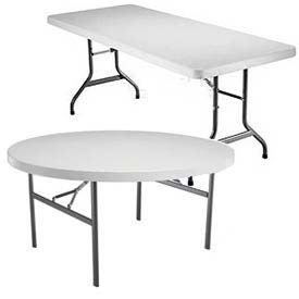Lifetime Lightweight Plastic Folding Tables