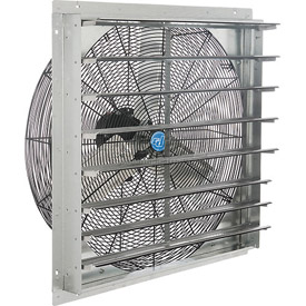 Exhaust Fans With Guard Mounts Or Shutters