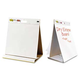 Post-it® Easel Pad 563 DE, 20 in x 23 in (50.8 cm x 58.4) Dry Erase Table Top Easel Pad